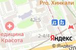 Схема проезда до компании Моё Детство в Москве