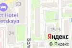 Схема проезда до компании ВИК в Москве