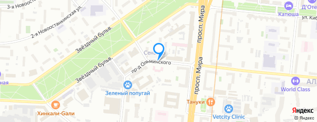 проезд Ольминского