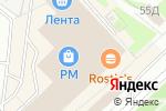 Схема проезда до компании Студия меха в Москве