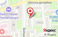 Схема проезда до компании Рекламное Агентство  в Москве