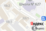 Схема проезда до компании Ibis kitchen в Москве