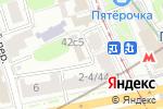 Схема проезда до компании CrazyBong в Москве