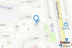 Сдается однокомнатная квартира в Москве м. Бабушкинская, Полярная улица, 15к2