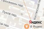 Схема проезда до компании Alliance в Москве
