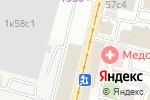 Схема проезда до компании Advanza в Москве