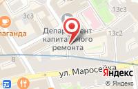 Схема проезда до компании Совет По Вопросам Управления и Развития в Москве