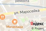 Схема проезда до компании АРХИВАТОР в Москве
