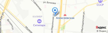 Мегаполис тур на карте Москвы