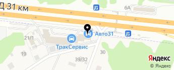 ТракСервис на карте Москвы