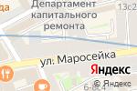 Схема проезда до компании АртемСтрой в Москве