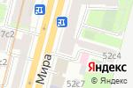 Схема проезда до компании Балет в Москве