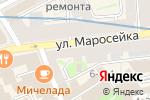 Схема проезда до компании Психотерапевтический кабинет Моклозян М.А. в Москве