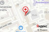 Схема проезда до компании Кентавр в Москве