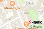 Схема проезда до компании Ферма Дэнс в Москве