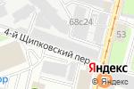 Схема проезда до компании ПКФ АБАК в Москве