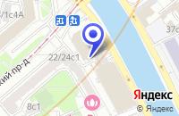 Схема проезда до компании БИЗНЕС-ЦЕНТР CENTRAL CITY TOWER в Москве