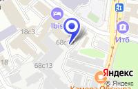Схема проезда до компании ТФ РОТАН в Москве