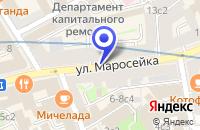 Схема проезда до компании ПРОИЗВОДСТВЕННАЯ ФИРМА АМЕГА в Москве