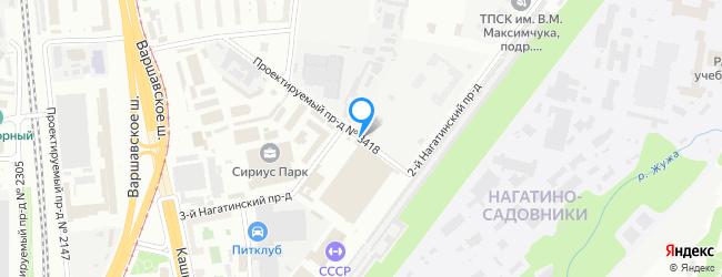 проезд Нагатинский 2-й