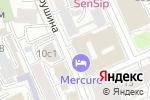 Схема проезда до компании Adagio Moscow Paveletskaya в Москве