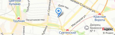 Международный транспорт и логистика на карте Москвы
