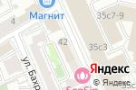 Схема проезда до компании Elevators Distribution в Москве