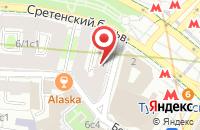 Схема проезда до компании Гринерс в Москве