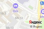 Схема проезда до компании Party-уроки в Москве