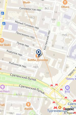 ТОРГОВАЯ КОМПАНИЯ САЛЮТЭ-В.И.П. КЛИНИК на карте Москвы