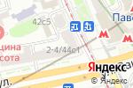 Схема проезда до компании БКС в Москве
