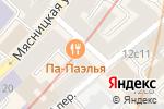 Схема проезда до компании Коносьеръ в Москве