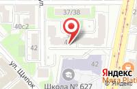 Схема проезда до компании Аштанга Йога Центр 2 в Москве