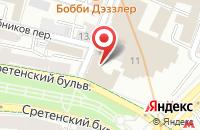 Схема проезда до компании Континентстрой в Москве