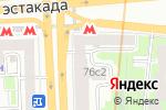 Схема проезда до компании Юридический центр в Москве
