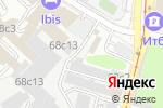 Схема проезда до компании Anteza в Москве