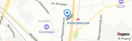 СВ-тур на карте Москвы