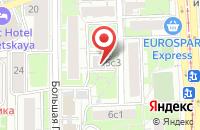 Схема проезда до компании Феррум в Москве