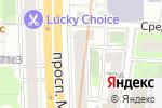 Схема проезда до компании Аудит-Ф в Москве