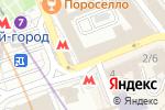 Схема проезда до компании Аккаунт в Москве