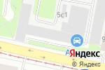 Схема проезда до компании Золотые проекты в Москве