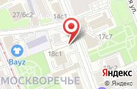 Схема проезда до компании Техноколор в Москве