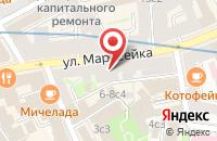 Схема проезда до компании Мягкое Золото в Москве