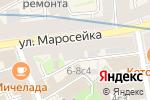 Схема проезда до компании Bonu Boutique в Москве