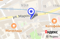 Схема проезда до компании СЕРВИСНАЯ ФИРМА V-COM в Москве