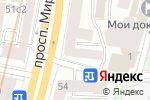 Схема проезда до компании Ла Диг в Москве