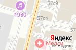 Схема проезда до компании Консалтингово-Аналитический Союз в Москве