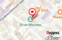 Схема проезда до компании Музей «Огни Москвы» в Москве