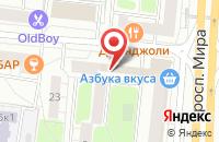 Схема проезда до компании Д-Принт в Москве