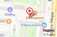 Схема проезда до компании Триумфэнерджи в Москве